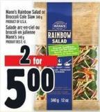 Mann's Rainbow Salad Or Broccoli Cole Slaw 340 G