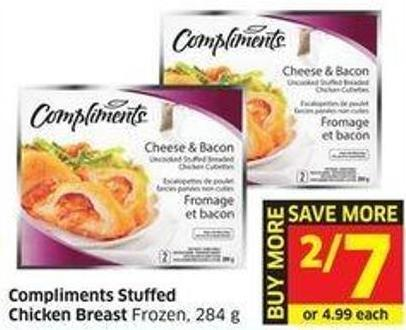 Compliments Stuffed Chicken Breast Frozen - 284 g