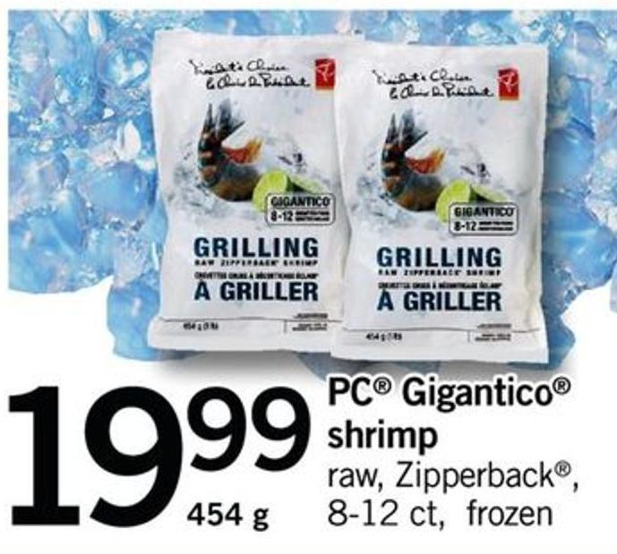 PC Gigantico Shrimp - 8-12 Ct - 454 G