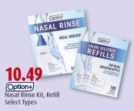 Option+ Nasal Rinse Kit - Refill