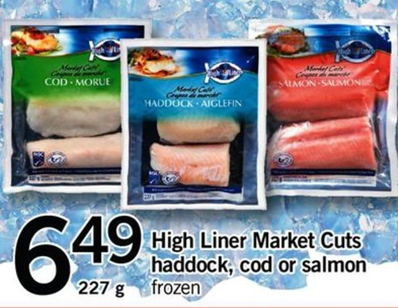 High Liner Market Cuts Haddock - Cod Or Salmon - 227 G