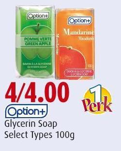 Option+ Glycerin Soap