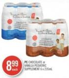 PC Chocolate or Vanilla Pediatric Supplement 6 X 235ml