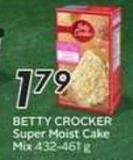 Betty Crocker Super Moist Cake Mix - 50 Air Miles Bonus Miles