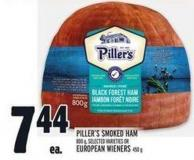 Piller's Smoked Ham 800 G - Selected Varieties Or European Wieners 450 G