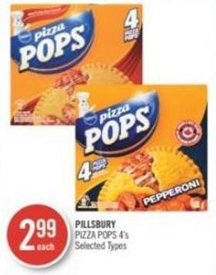 Pillsbury Pizza Pops 4's
