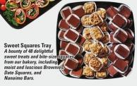 Sweet Squares Tray