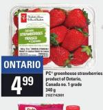 PC Greenhouse Strawberries - 340 g
