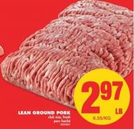 Lean Ground Pork