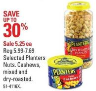 Selected Planters Nuts