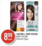 L'oreal Casting or Root Rescue Hair Colour