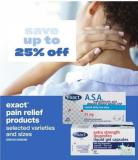 Exact Pain Relief Products
