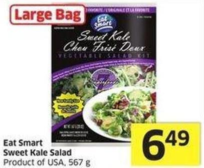 Eat Smart Sweet Kale Salad Product of USA - 567 g