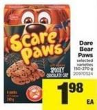 Dare Bear Paws - 150-270 g