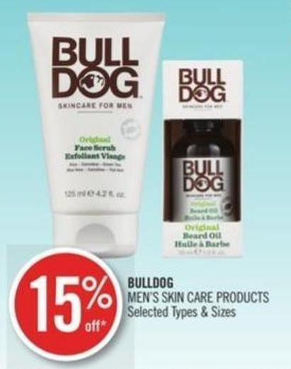 Bulldog Men's Skin Care Products