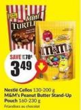 Nestlé Cellos 130-200 g M&m's Peanut Butter Stand-up Pouch 160-230 g