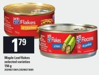 Maple Leaf Flakes - 156 g