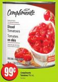 Compliments Tomatoes 796 mL