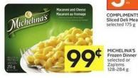 Michelina's Frozen Dinner Selected or Zap'ems 128-284 g