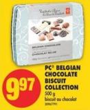 PC Belgian Chocolate Biscuit Collection - 500 g