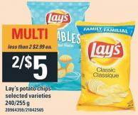 Lay's Potato Chips - 240/255 g