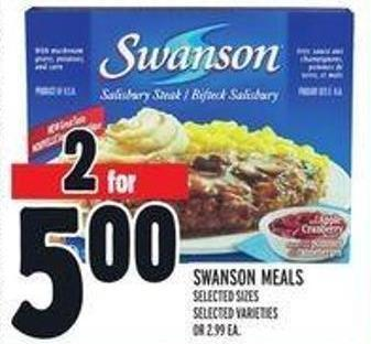 Swanson Meals