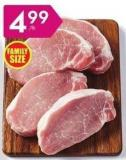 Fresh Boneless Pork Loin Centre or Rib Chops or Roasts $11.00/kg