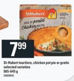St-hubert Tourtiere - Chicken Pot Pie Or Gratin 565-645 g