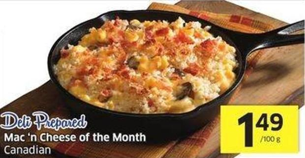 Mac 'N Cheese of The Month Canadian