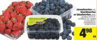 Strawberries - 2 Lb - Blackberries Or Blueberries - Pints