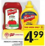 French's Combo Pack