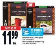 Irresistibles K‑cup Coffee Capsules