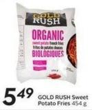 Gold Rush Sweet Potato Fries 454 g