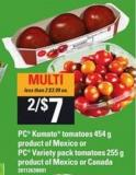 PC Kumato Tomatoes - 454 G Or PC Variety Pack Tomatoes - 255 G