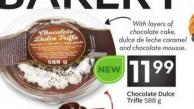 Chocolate Dulce Trifle