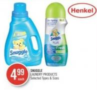 Snuggle Laundry Products