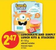 Lunchmate And Simply Lunch Kits & Stackers - 81-132 g