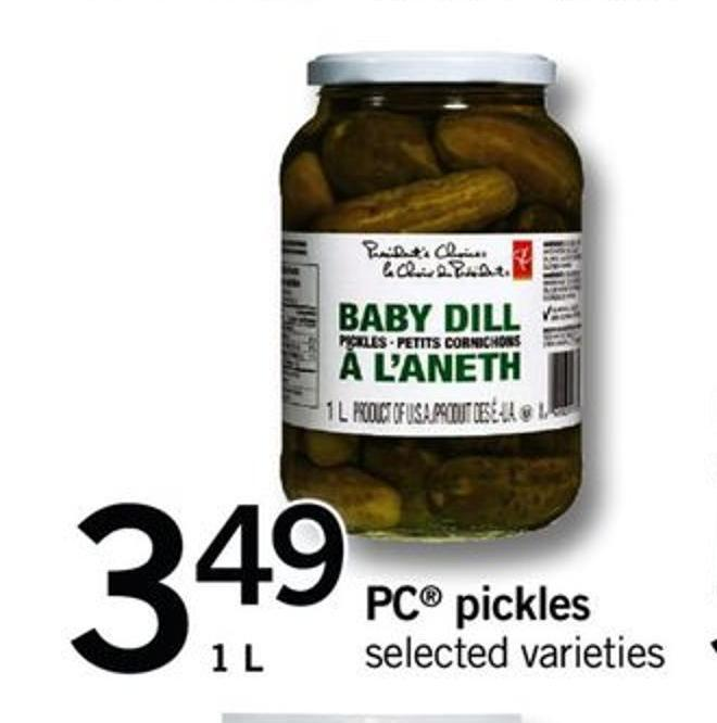 PC Pickles - 1 L