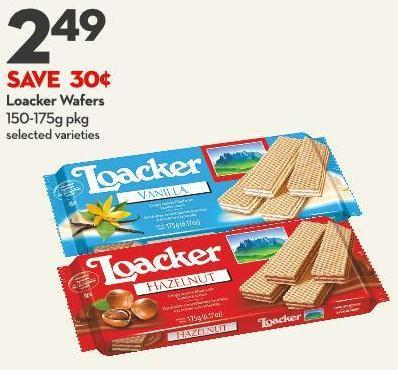 Loacker Wafers 150-175g Pkg