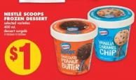 Nestlé Scoops Frozen Dessert - 400 mL