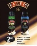 Baileys Coffee Creamer - 400 Ml