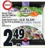 Harvest Fresh Kale Slaw Salad 340 g