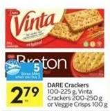 Dare Crackers - 5 Air Miles Bonus Miles