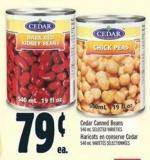 Cedar Canned Beans 540 ml