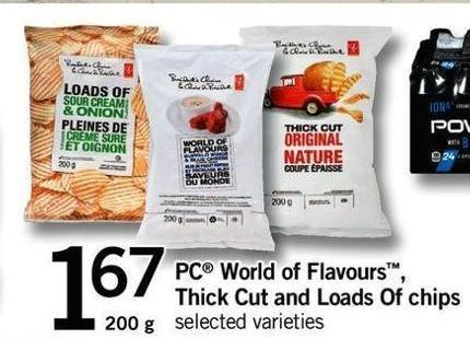 PC World Of Flavours - Thick Cut And Loads Of Chips - 200 G