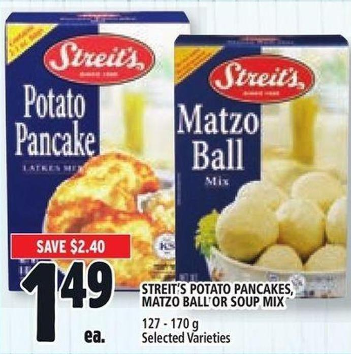 Streit's Potato Pancakes - Matzo Ball Or Soup Mix