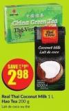 Real Thai Coconut Milk 1 L Hao Tea 200 g