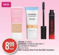 Revlon So Fierce - Covergirl Lashblast Mascara or Clean Makeup Products