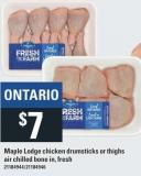 Maple Lodge Chicken Drumsticks Or Thighs Air Chilled
