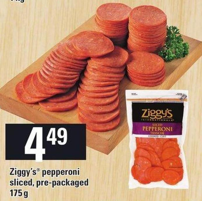 Ziggy's Pepperoni - 175 g